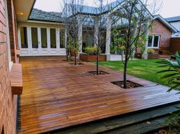 Timber decking in Leabrook, Adelaide